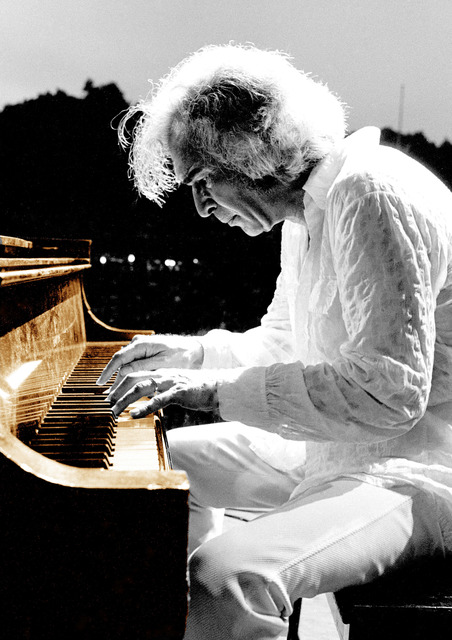 Richard E. Aaron, 'Dave Brubeck - 1975 at the Colorized Piano', White Cross