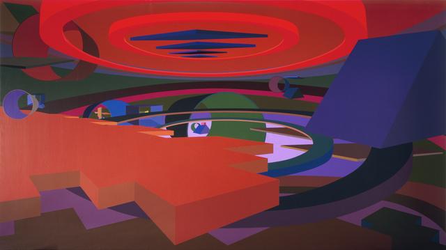 , 'Orion V,' 1991, Al Held Foundation
