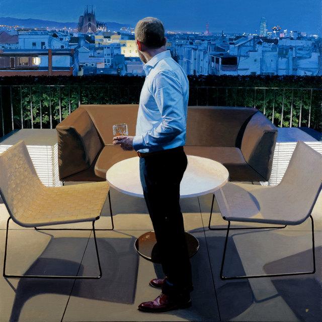 , 'Barcelona Evening,' 2017, Pontone Gallery