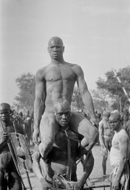 , 'Victor of the Korongo Nuba wrestlers. Kordofan, Southern Sudan,' 1949, David Hill Gallery