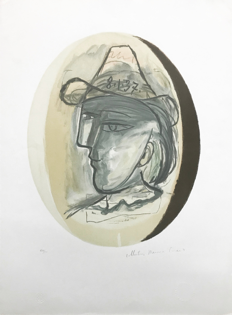 Pablo Picasso, 'TETE', 1979-1982, Reproduction, LITHOGRAPH ON ARCHES PAPER, Gallery Art
