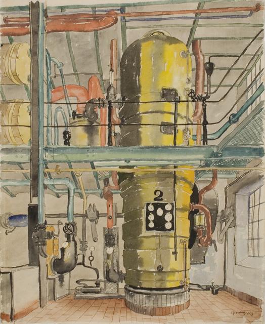 , 'The Yellow Boiler (Der Gelbe Kessel),' 1933, Forum Gallery