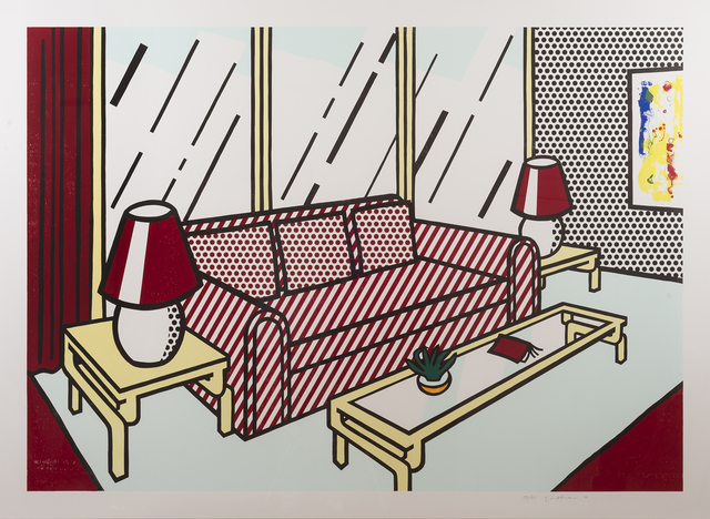 , 'Red Lamps,' 1990, Sims Reed Gallery