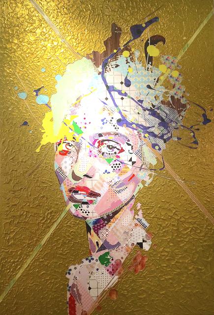Pınar DU PRE, 'Zephyr in Gold', 2016, Painting, Mixed Media, FREMIN GALLERY