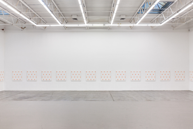, '25 paintings (Installation view),' 1987, Swiss Institute
