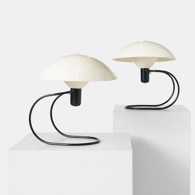 ", 'Pair of Greta Von Nessen ""Anywhere"" Lamp,' ca. 1952, Almond & Co."