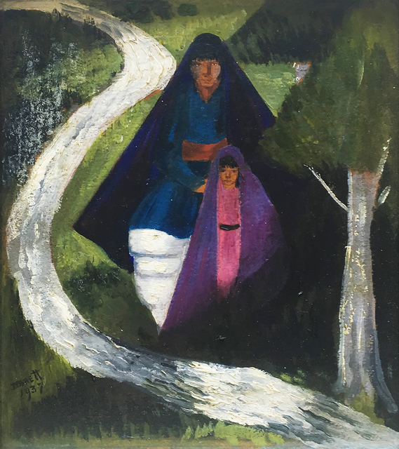 , 'Taos Pueblo Mother & Child,' 1937, 203 Fine Art