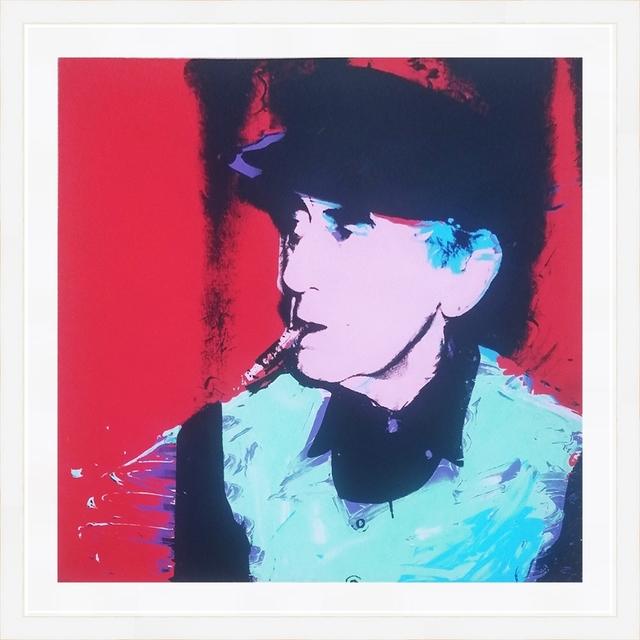 Andy Warhol, 'MAN RAY FS II.148', 1974, Print, Screenprint on Strathmore Bristol Paper., Gallery Art