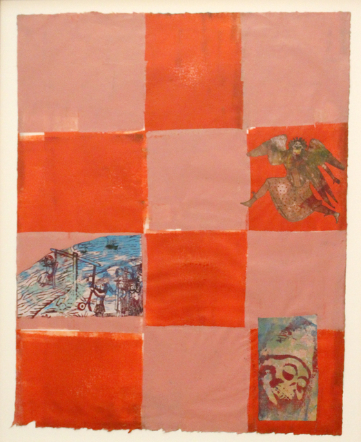 Nancy Spero, 'The drowning of a witch', 1996, Mixed Media, On paper, Galerie Michaela Stock