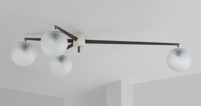 Angelo Lelii, 'A ceiling lamp', 1950's, Aste Boetto