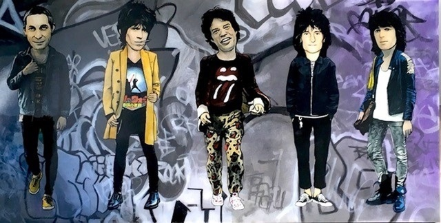 , 'The Rolling Stones,' 2016, Mouche Gallery
