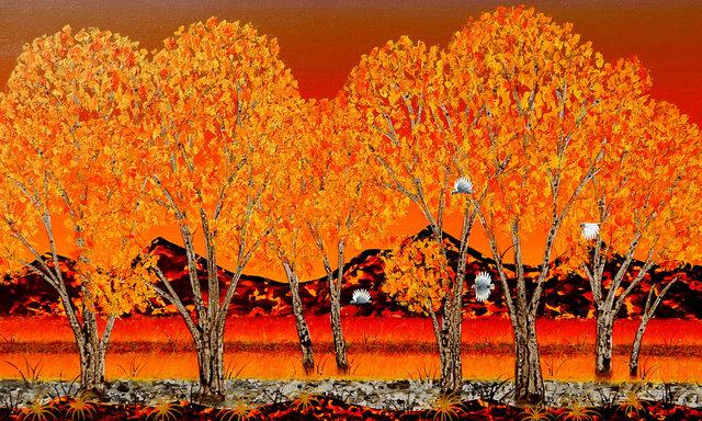 Peter Coad, 'Sunrise - Brachina Creek', Wentworth Galleries