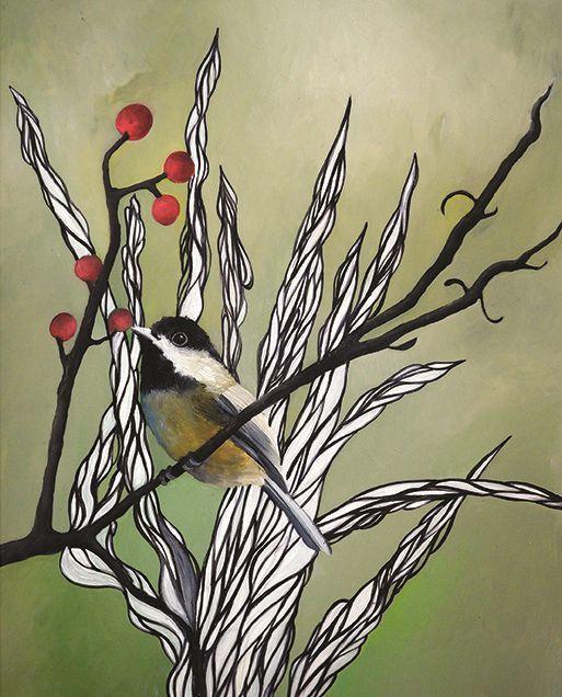 , 'Chickadee,' 2018, Childs Gallery