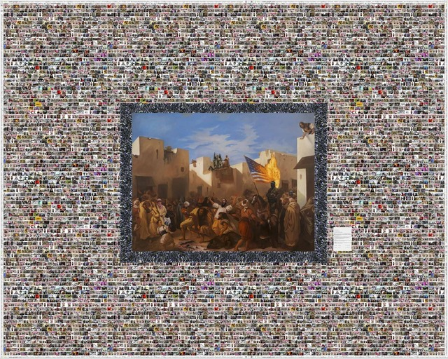 , 'Fanatics of Tangier or The Muslim Rage,,' 2013, Leila Heller Gallery