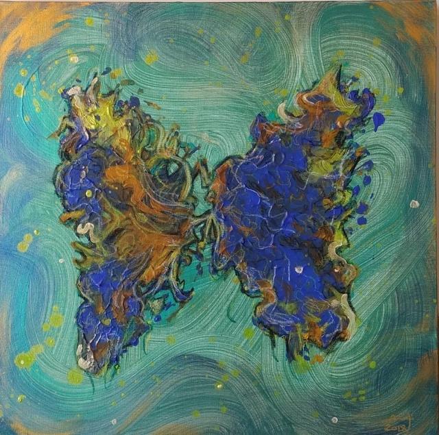 , 'Vibration 02 ,' 2018, al markhiya gallery