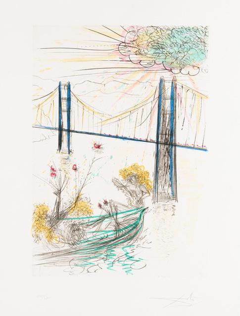 Salvador Dalí, 'Golden Gate Bridge', 1970, Christopher-Clark Fine Art