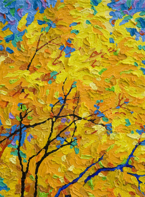 , 'Gem - Days of Indian Yellow II,' 2018, Ventana Fine Art