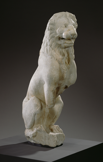 'Funerary Lion', ca. 310 BCE, J. Paul Getty Museum
