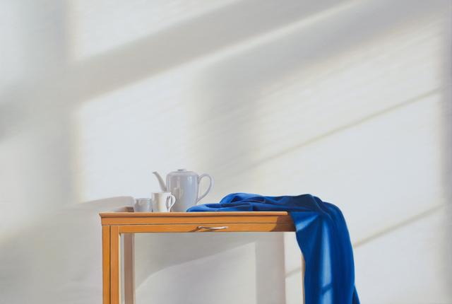 , 'Tee mit Blau,' 2018, Galerie Barbara von Stechow
