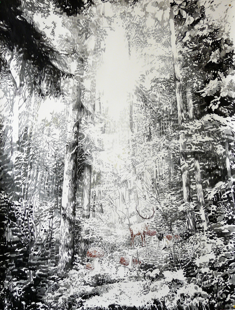 , 'Black Forest II,' 2015, Victor Lope Arte Contemporaneo