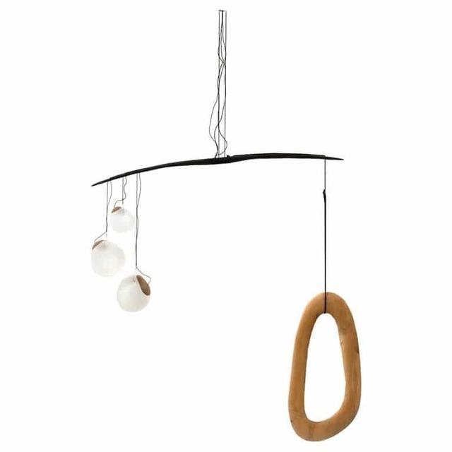 Jérôme Pereira, 'Fluxus, Sculpted Lighting by Jérôme Pereira', 2019, Design/Decorative Art, Blown Glass, Galerie Philia