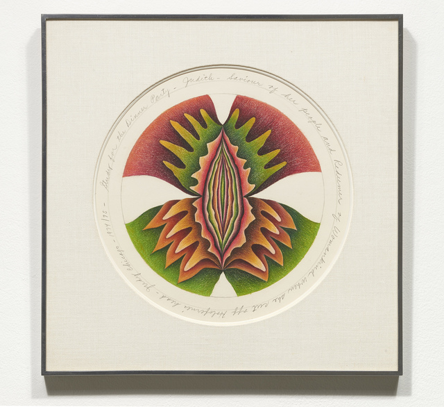 , 'Study for Judith Plate,' 1974-1975, Jessica Silverman Gallery