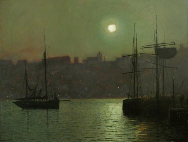 , 'Old Scarborough,' 1882, MacConnal-Mason Gallery