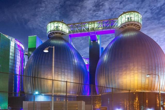 , 'Colored Lights, Newton Creek Wastewater Treatment Plant, Brooklyn,' , Soho Photo Gallery