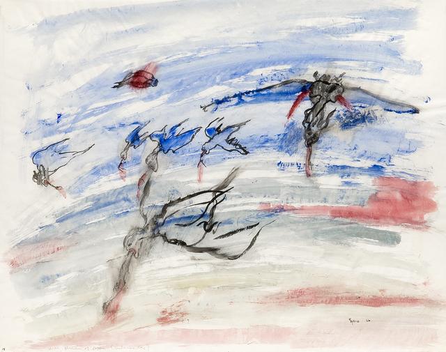 , 'War, birds of prey,' 1966, Galerie Lelong & Co.