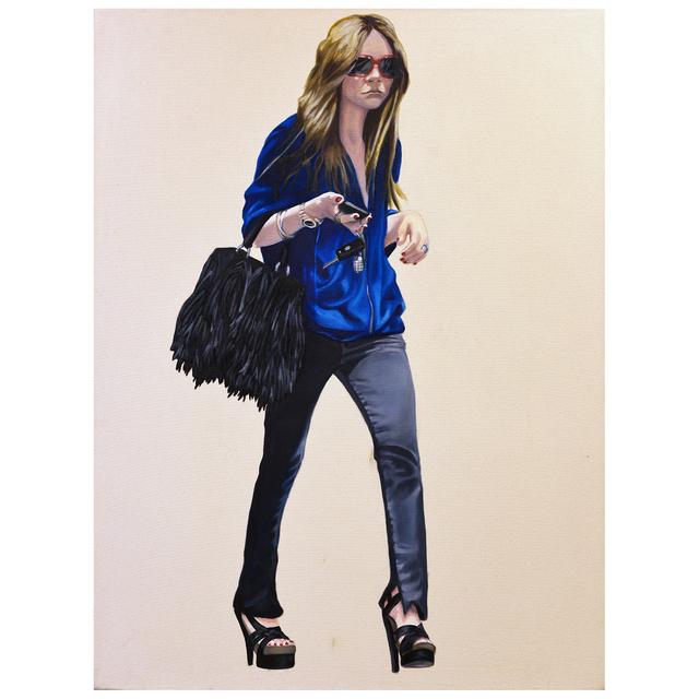 , 'Courtney Walking - Blue Sweatshirt,' 2008, Jen Mauldin Gallery