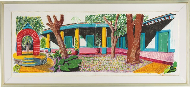 David Hockney, 'Hotel Acatlan: Second Day from the Moving Focus Series', 1984-1985, Fine Art Mia