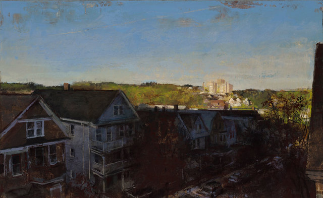, 'State Lab, Dawn,' 2018, William Baczek Fine Arts