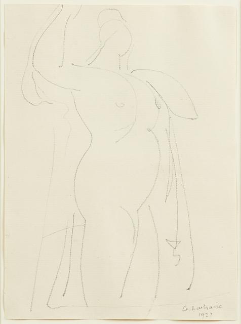 Gaston Lachaise, 'Untitled (Nude)', 1927, Rago/Wright