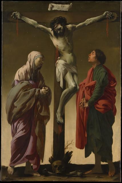 Hendrick ter Brugghen, 'The Crucifixion with the Virgin and Saint John', ca. 1624–1625, The Metropolitan Museum of Art