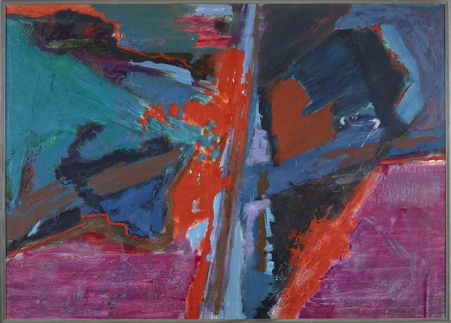 Judith Godwin, 'Flux', 1982, Painting, Oil on canvas, Berry Campbell Gallery