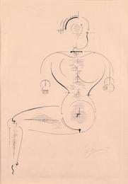 Figur von de Seite from Bauhaus portfolio