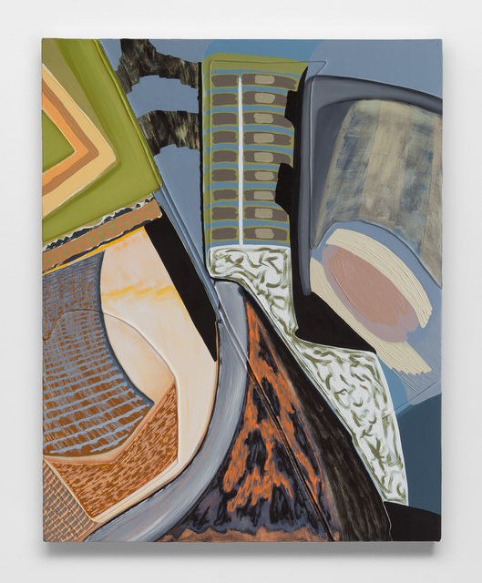 Magalie Guérin, 'Untitled (res 1.1)', 2019, Painting, Oil on canvas on panel, Galerie Nicolas Robert