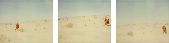 , 'A Vision you can't Capture (29 Palms, CA), triptych, analog, mounted,' 2007, Instantdreams