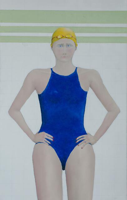, 'Swimmer,' 2017, Agora Gallery