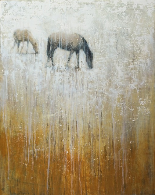 Matt Flint, 'Winter Grazing', SmithKlein Gallery
