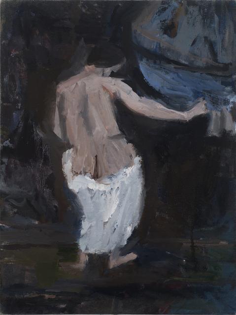 Janice Nowinski, 'Draped Nude', 2017, John Davis Gallery