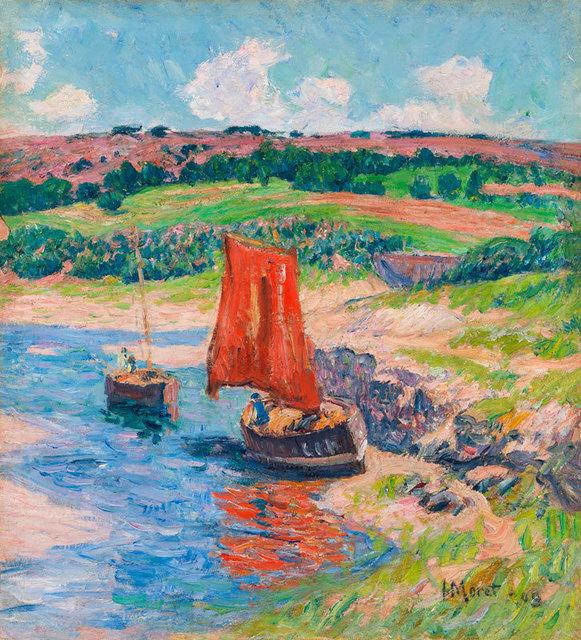 , 'The Red Sail,' 1909, Daphne Alazraki Fine Art