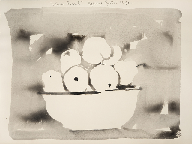 , 'White Bowl,' 1989, Imlay Gallery