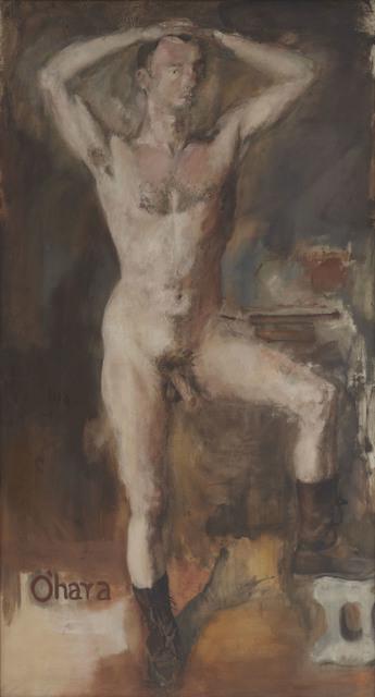 Larry Rivers, 'O'Hara Nude with Boots', 1954, Tibor de Nagy