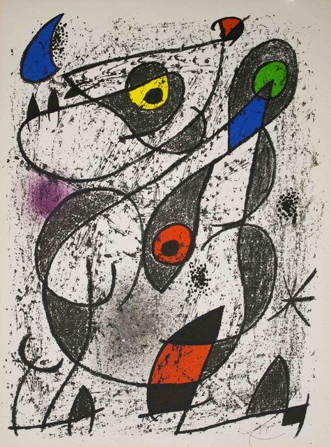 Joan Miró, 'A L'Encre II', 1972, The Munn Collection