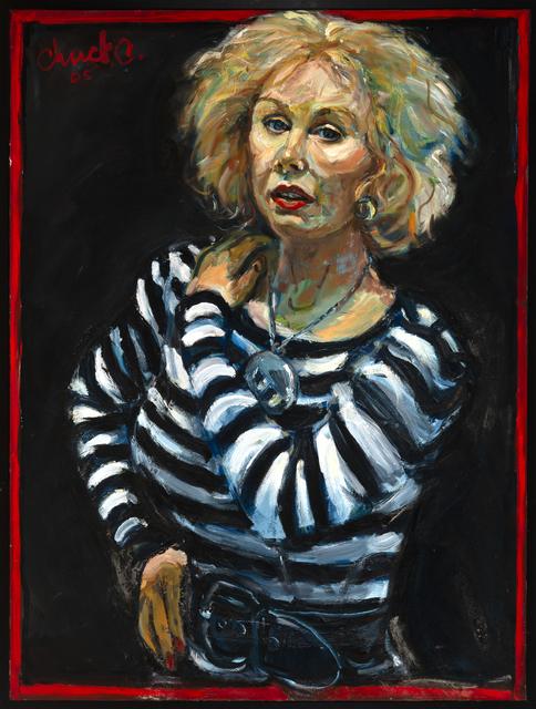 Chuck Connelly, 'Portrait of Caroline Millett', 2005, Painting, Oil on Canvas, InLiquid