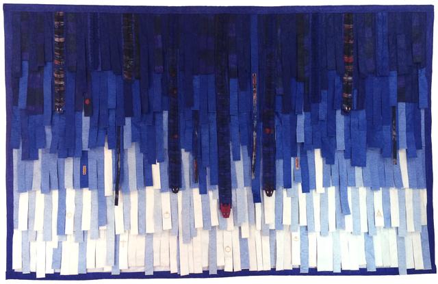 , 'Bleu n°6 Reptiles et religions,' 2014, Primo Marella Gallery