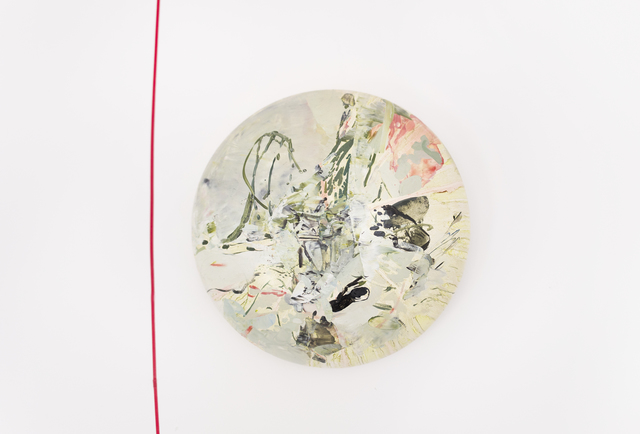 , 'Painted Go No.3,' 2017, Luisa Catucci Gallery