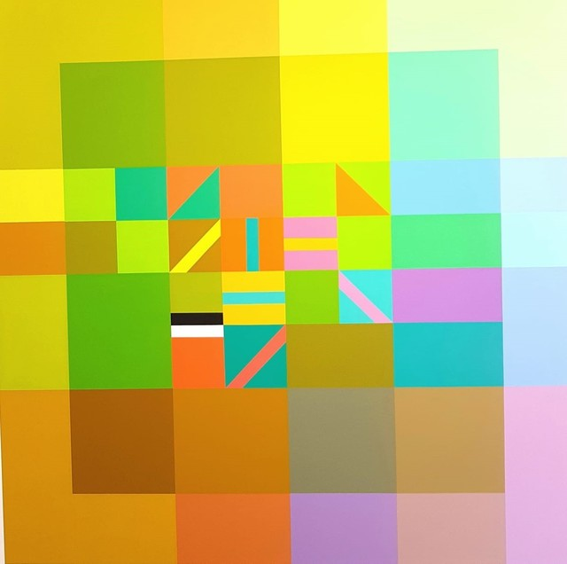 , 'Simple Quantum Cipher`s (7),' , The Melrose Gallery