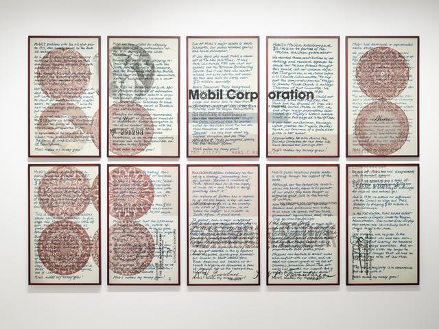 , 'Upstairs at Mobil: Musings of a Shareholder,' 1981, Richard Saltoun